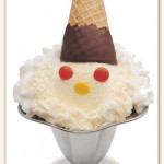 Friendly's Conehead Sundae